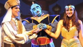 Aladim, Jasmine e Gênio